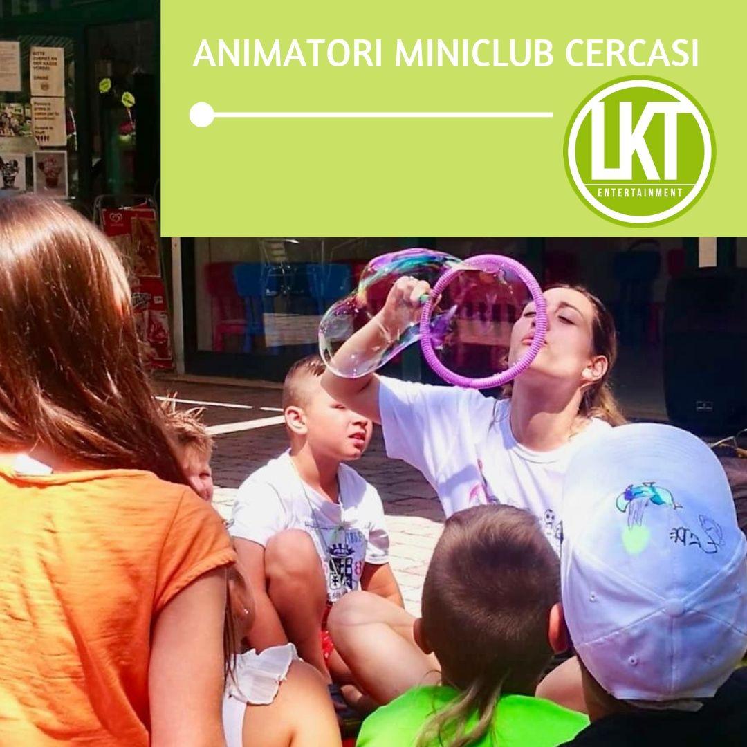ANIMATORI MINICLUB DA MAGGIO 2019